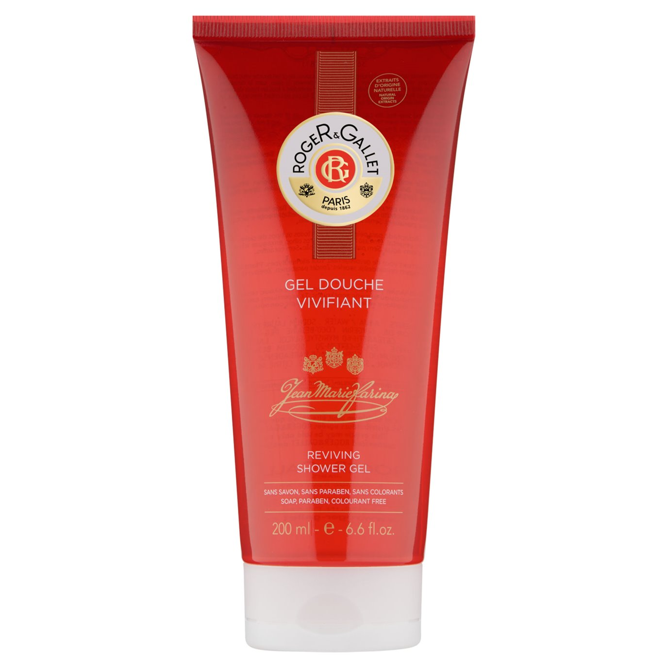Jean Marie Farina Extra Vieille Bath & Shower Gel Tube by Roger & Gallet