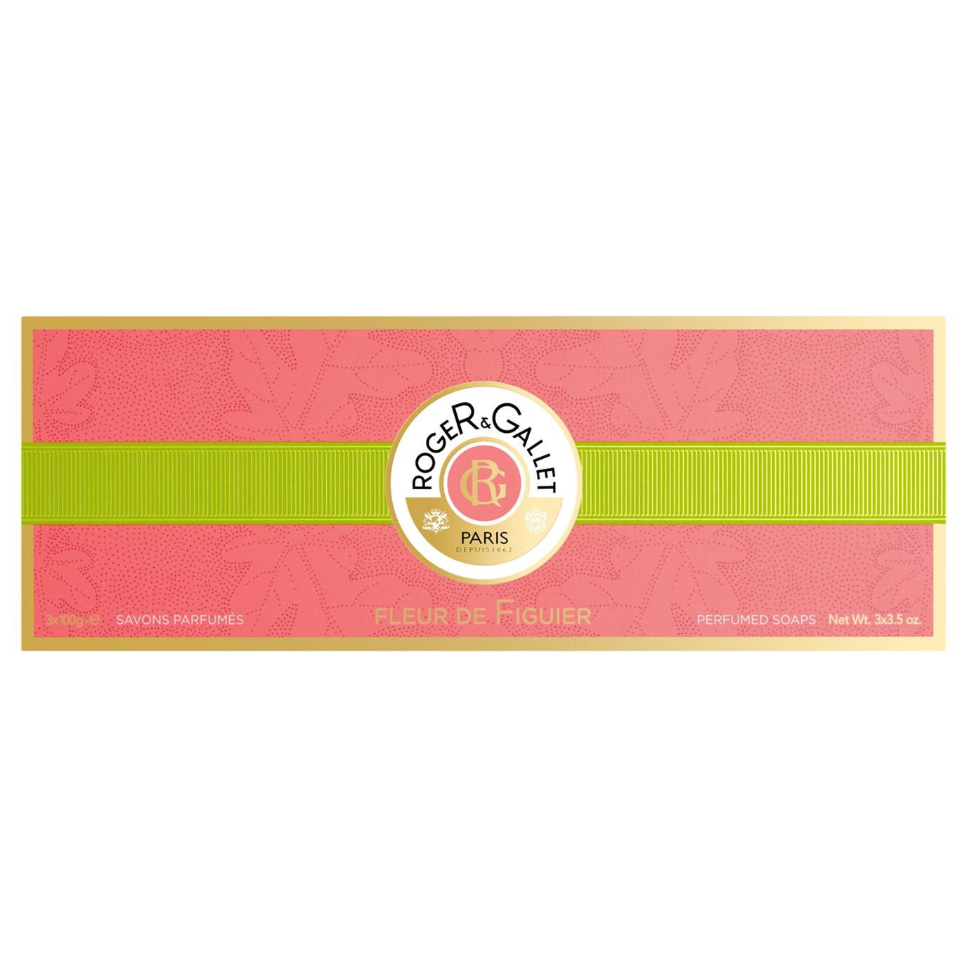 Roger & Gallet Fleur de Figuier Soaps Box of 3 (3 bars, each 3.5 oz., 100g)