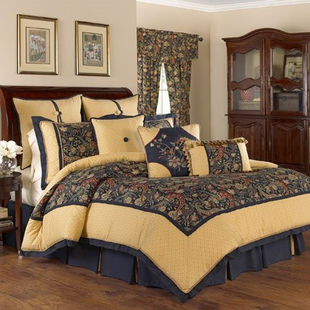 Waverly Rhapsody 4 Piece King Bedding Collection