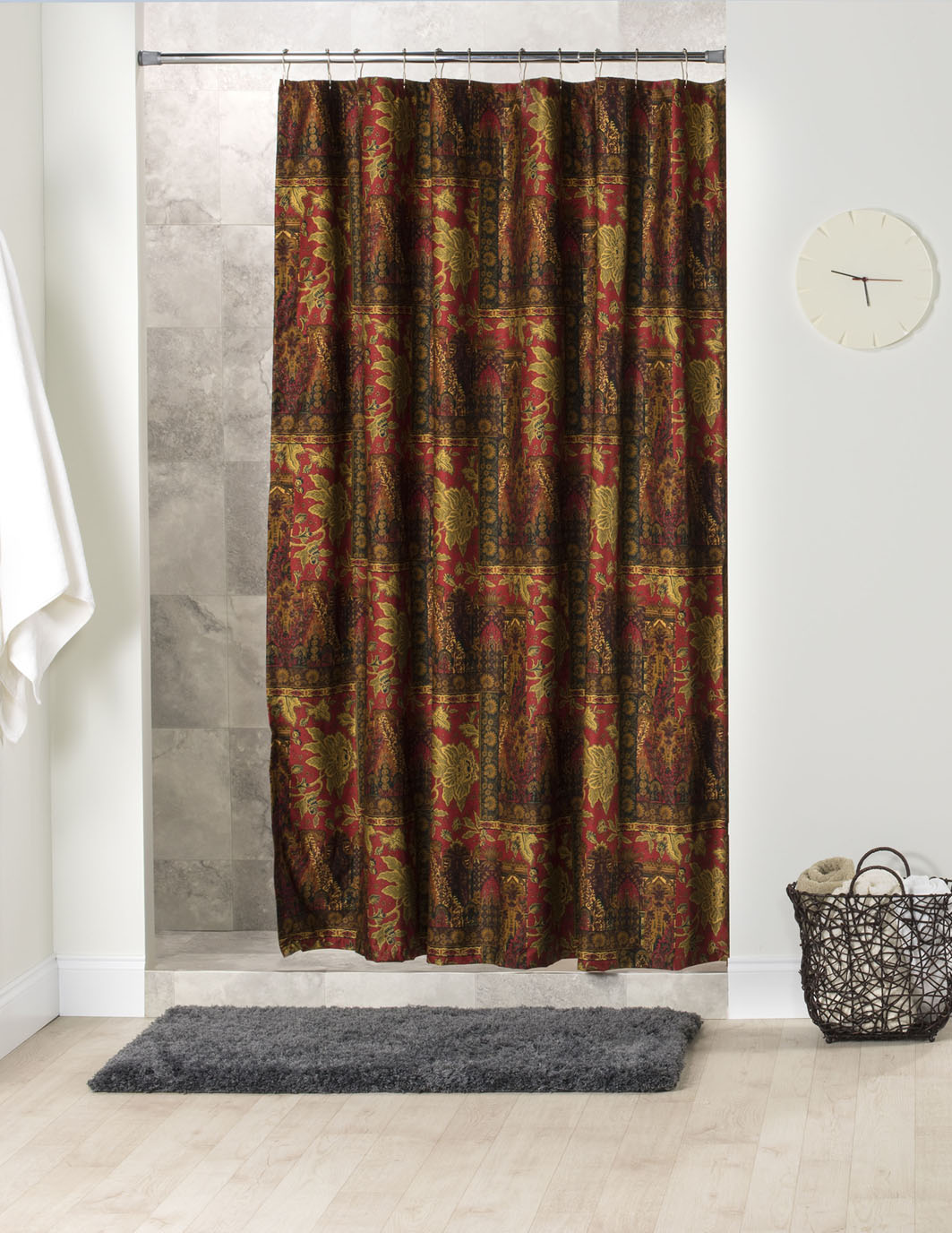 Kalinjar Shower Curtain