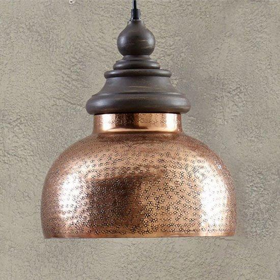 Antique Copper Pendant Light
