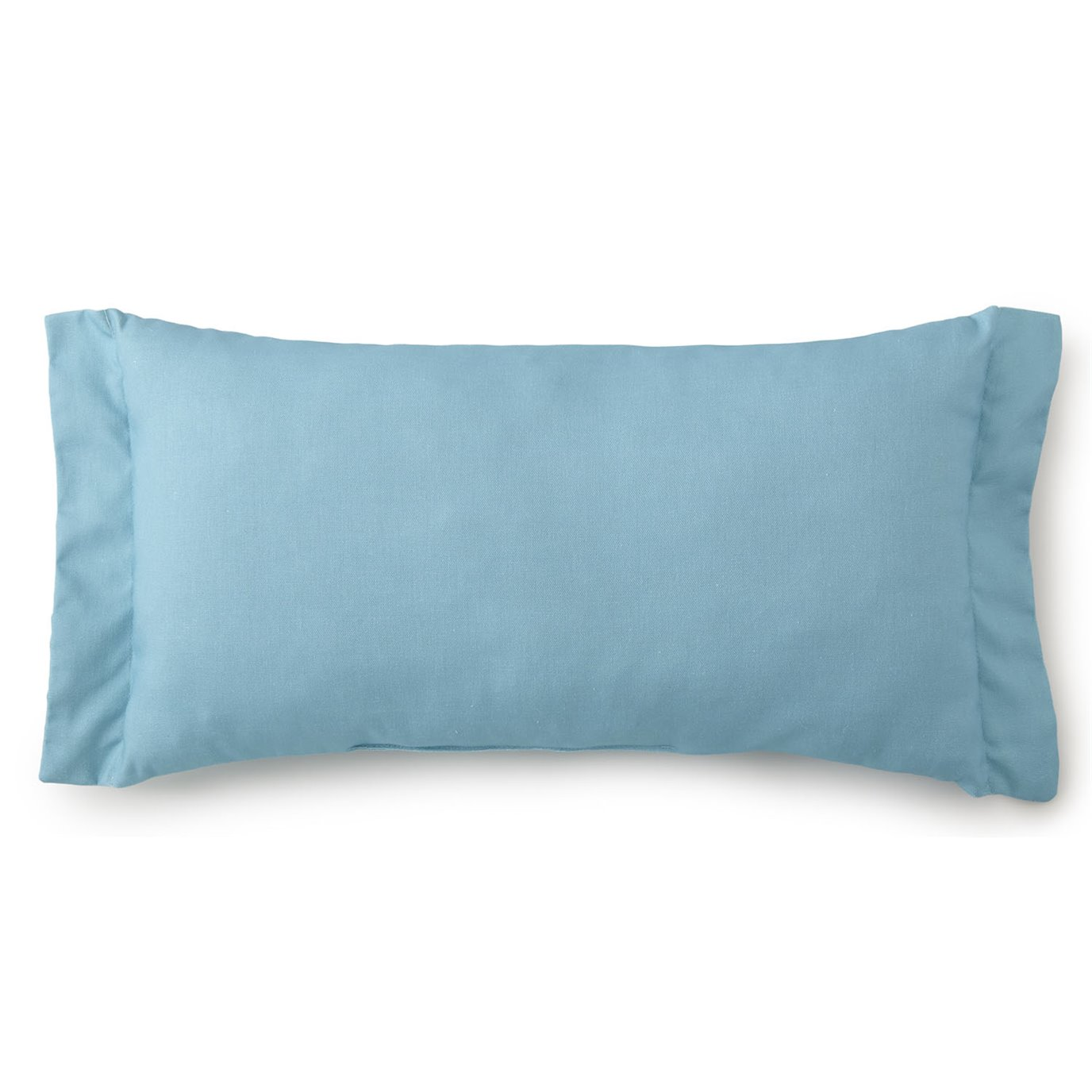 Seascape Long Rectangle Cushion - Solid Aqua