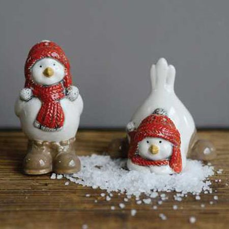 Winter Bird Salt & Pepper Set