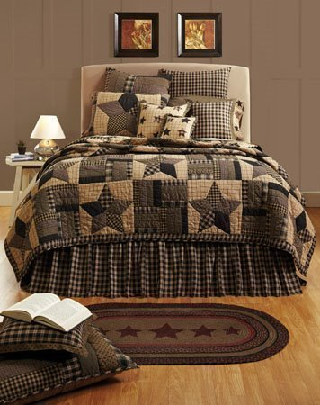 Bingham Star Queen Quilt Set