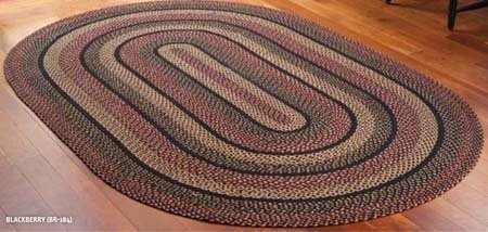 Blackberry Oval 36 X 60 Rug
