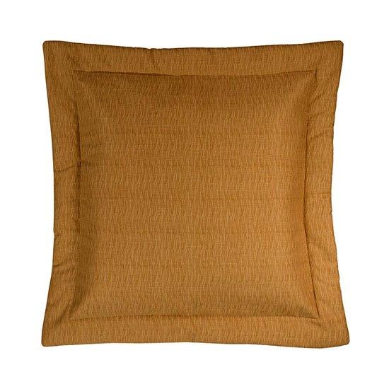 Cayman Golden Grass Cloth Euro Sham