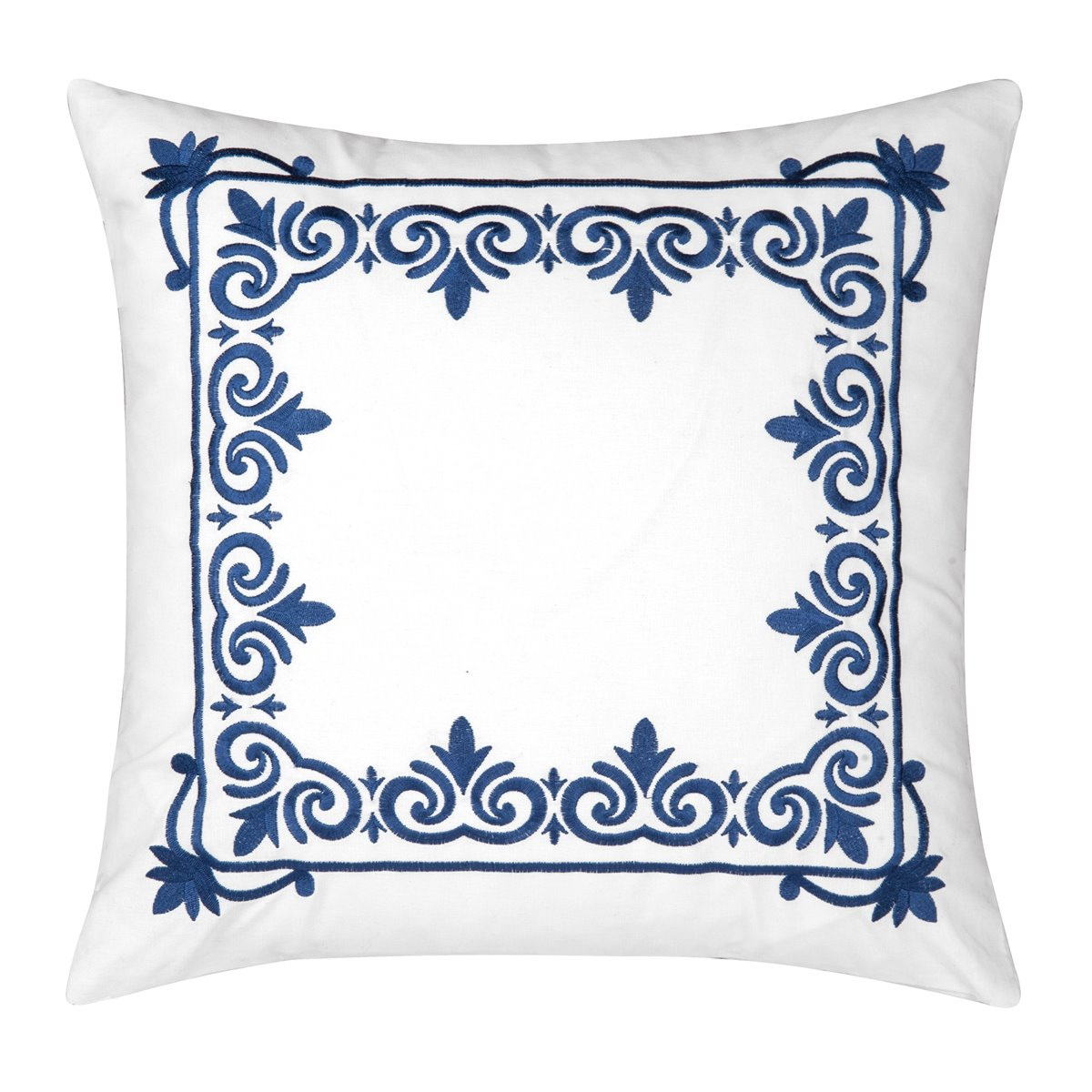 Renee Framed Embroidered Pillow