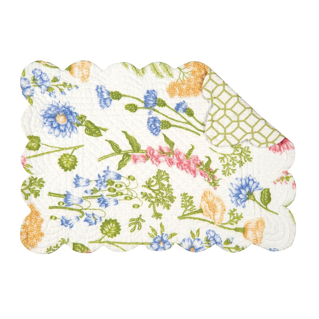 Jeanette Rectangular Quilted Placemat