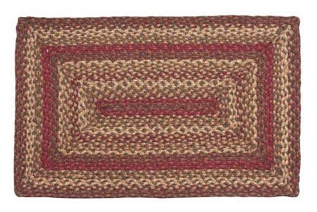Cinnamon Rectangular 27 X 48 Rug