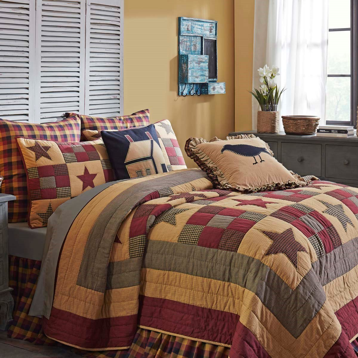 Hazelwood Twin Quilt Set