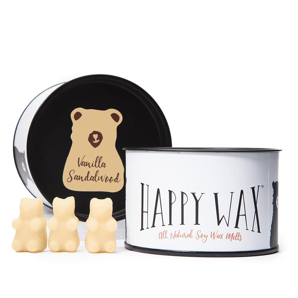 Happy Wax Vanilla Sandalwood Wax Melts
