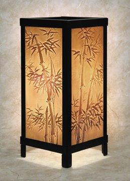 Bamboo Luminaire by Porcelain Garden