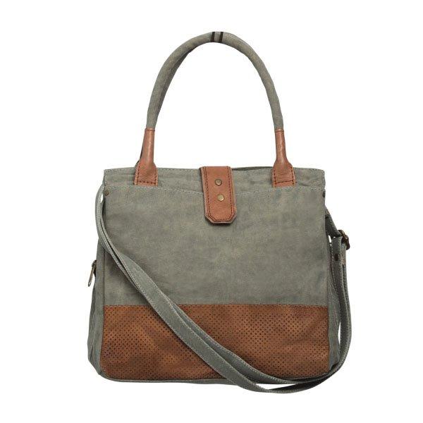 Mona B. Rachella Canvas Shoulder Bag