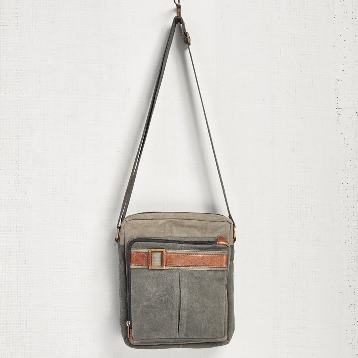 Mona B. Parker Canvas Crossbody Bag