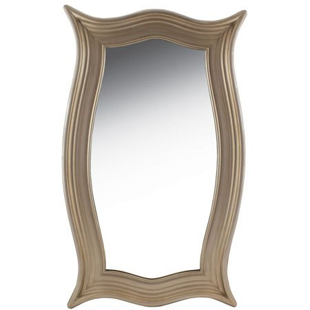 Champagne Curved Mirror by Split-P