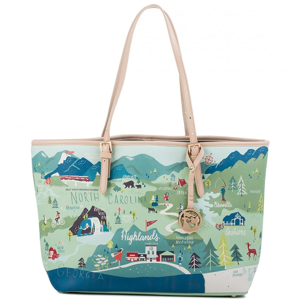 Spartina 449 Greetings from the Blue Ridge Mountains Tote