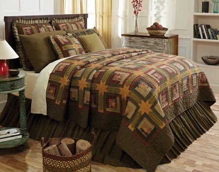 Tea Cabin King Quilt