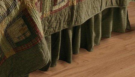 Tea Cabin King Bed Skirt
