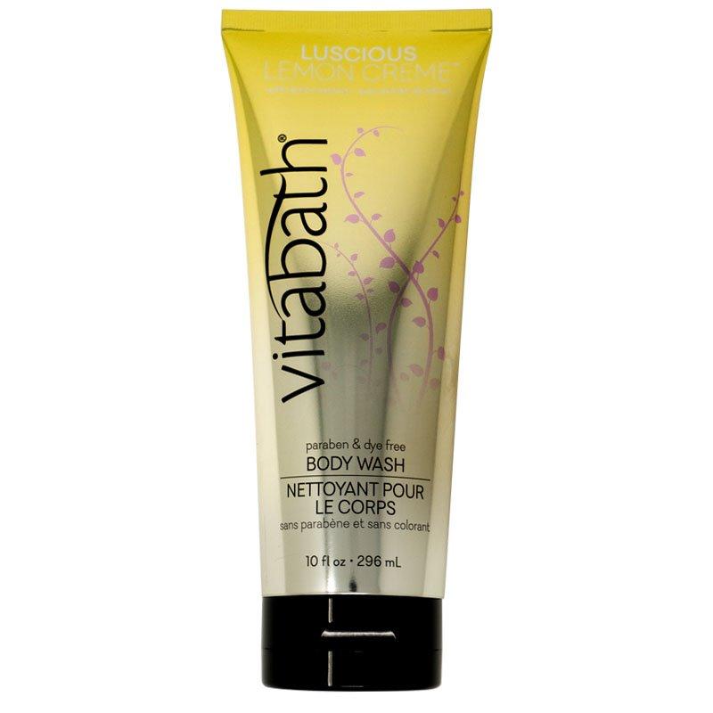 Vitabath  Luscious Lemon Creme Body Wash (10 fl oz)