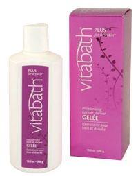 Vitabath Plus for Dry Skin Moisturizing Bath & Shower Gelee (10.5 oz)