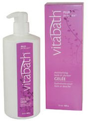 Vitabath Plus for Dry Skin Moisturizing Bath & Shower Gelee (21 oz)