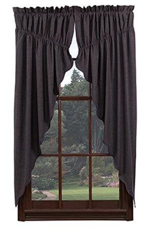 """Arlington 63"""" Prairie Curtains"""