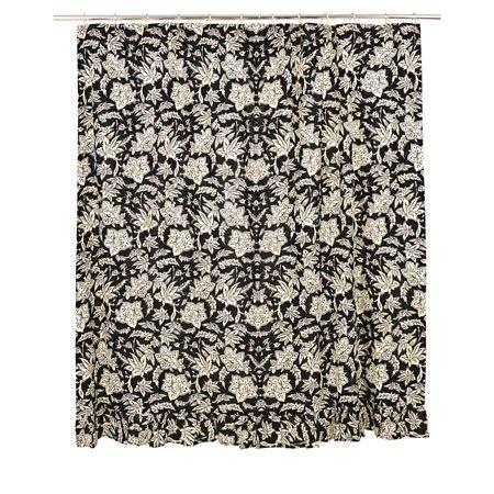 Cordova Ruffled Shower Curtain