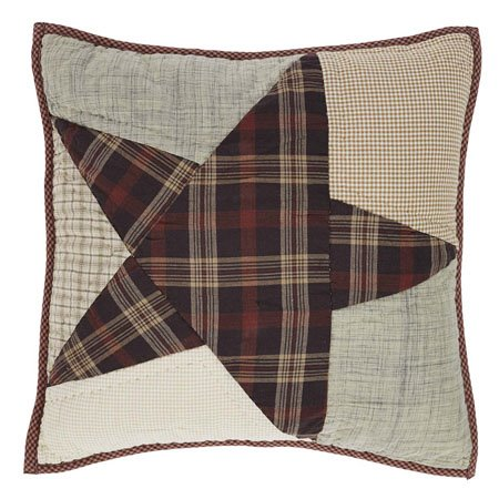 Abilene Star Quilted Pillow