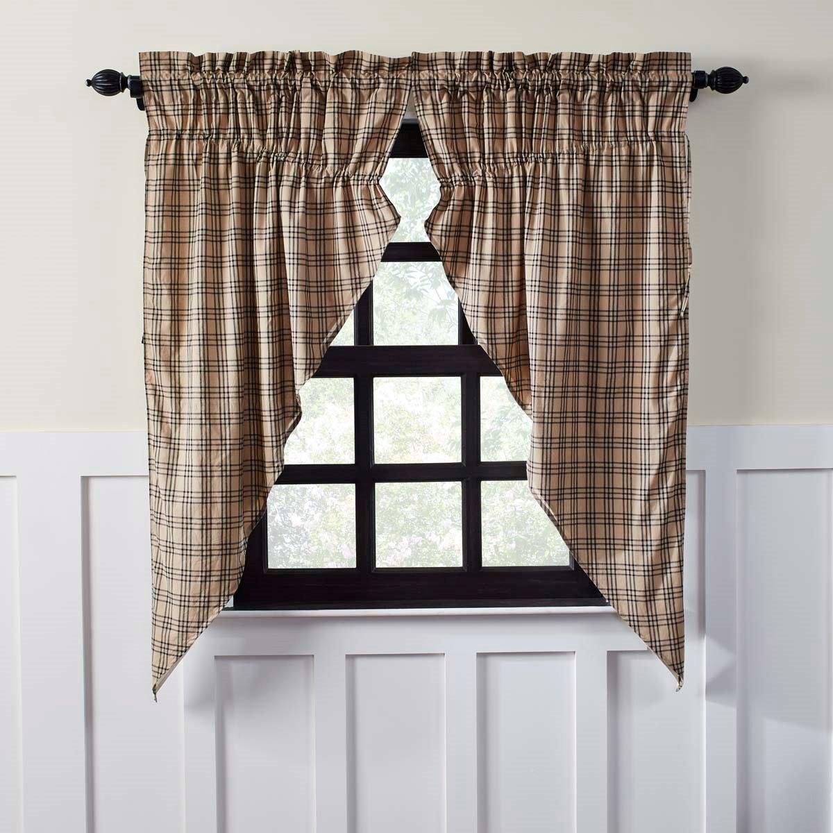 Sawyer Mill Prairie Curtain set of 2 (63L x 36W)