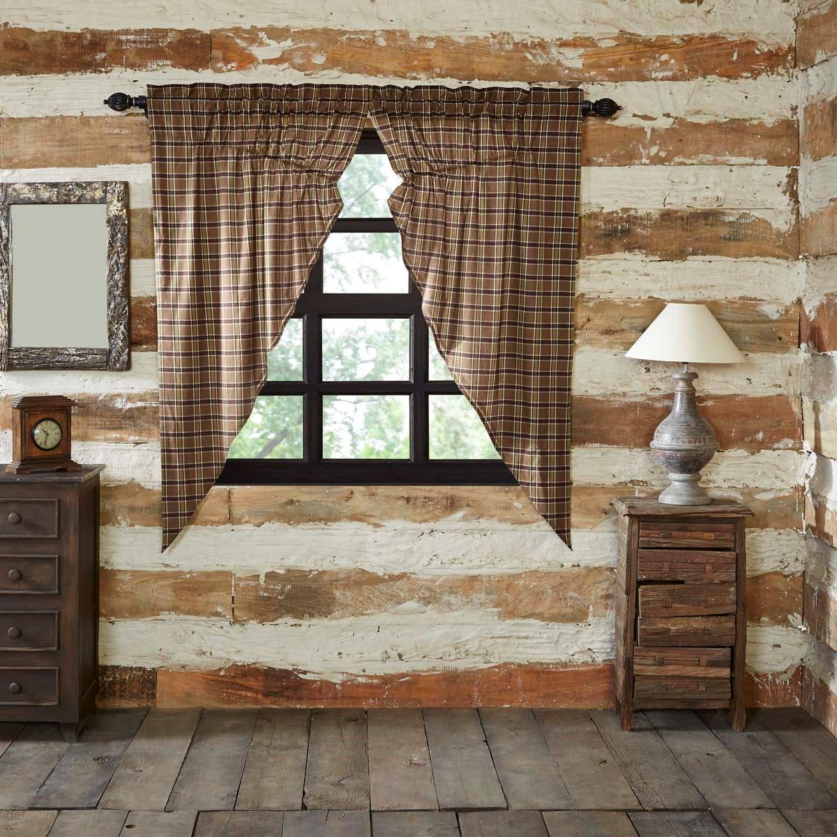Wyatt Prairie Curtain set of 2 (63L x 36W)
