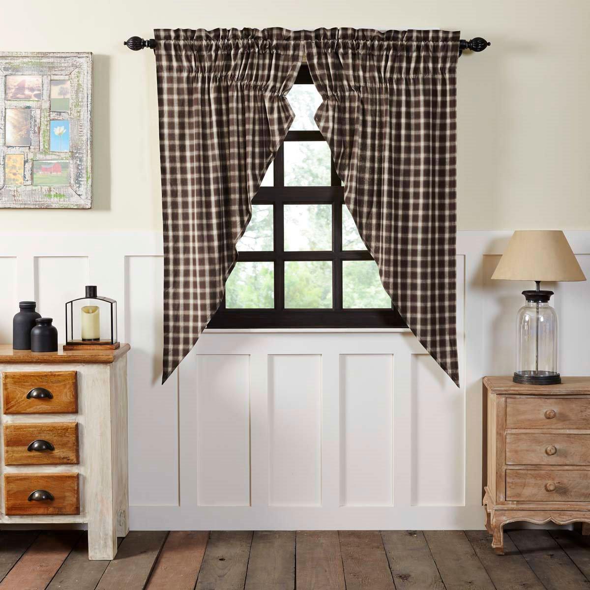 Rory Prairie Curtain Set of 2 63 x 36 x 18