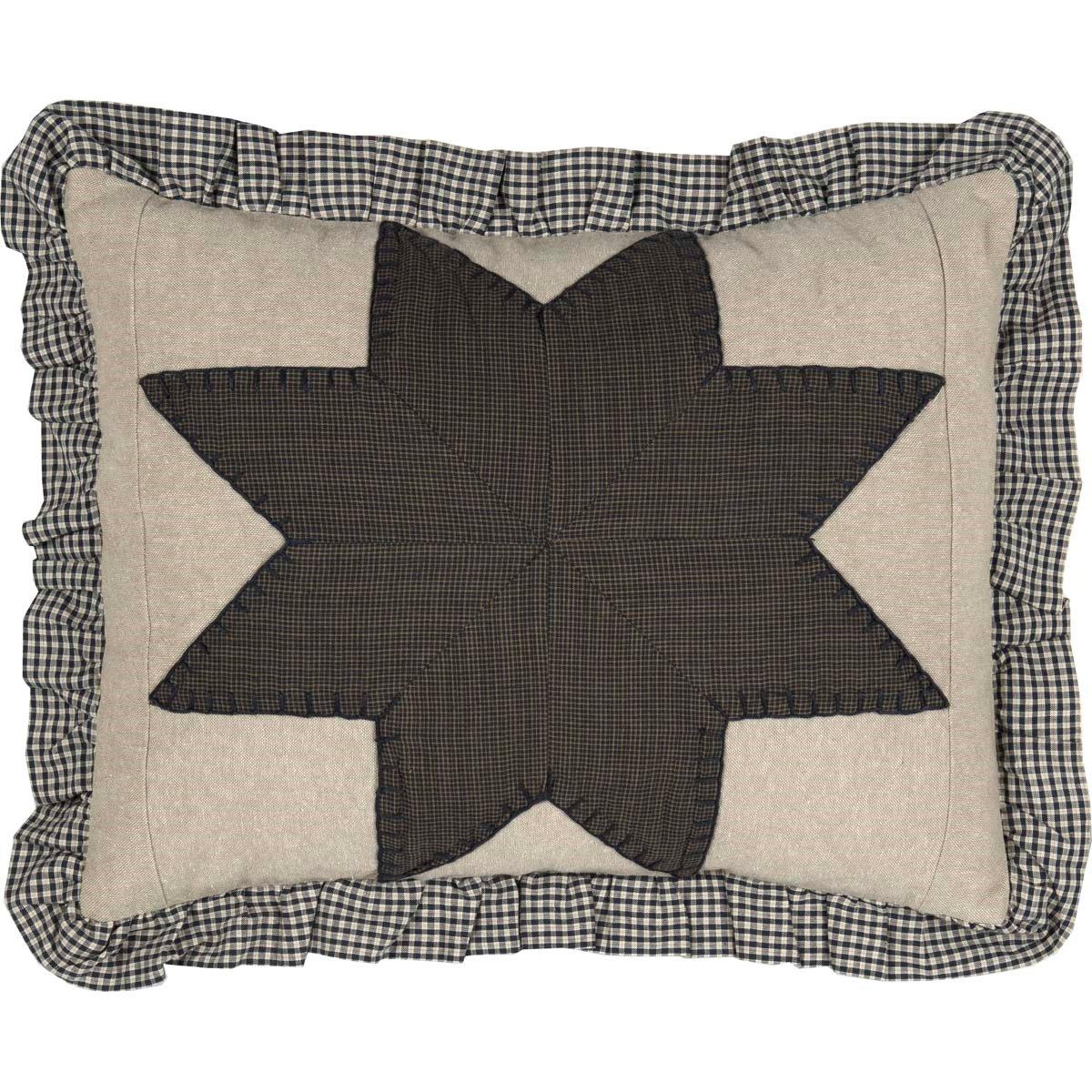 Liberty Stars Patchwork Pillow 14 x 18
