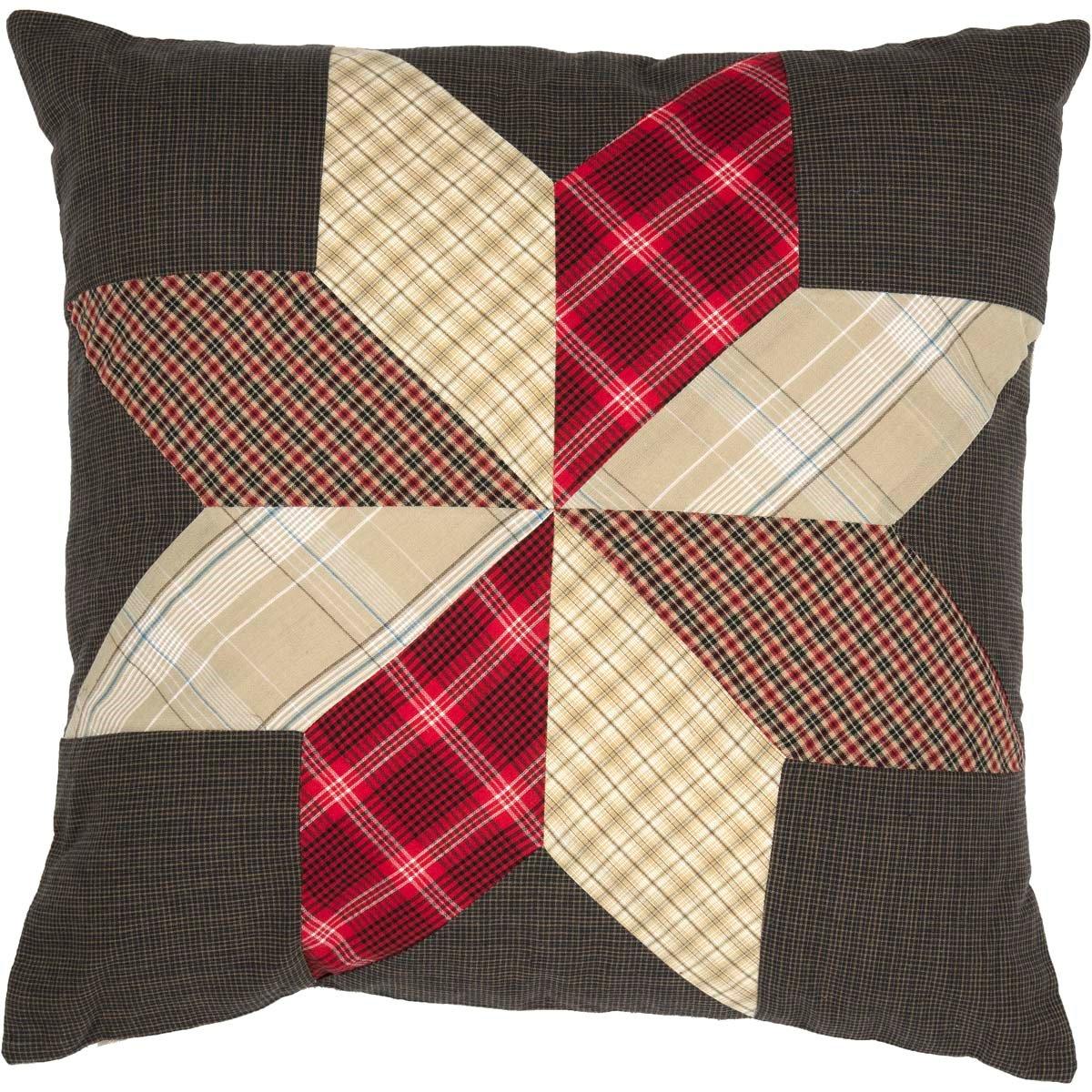 Liberty Stars Patchwork Pillow 18 x 18