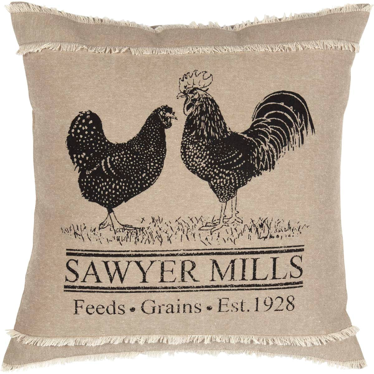 Sawyer Mill Poultry Pillow