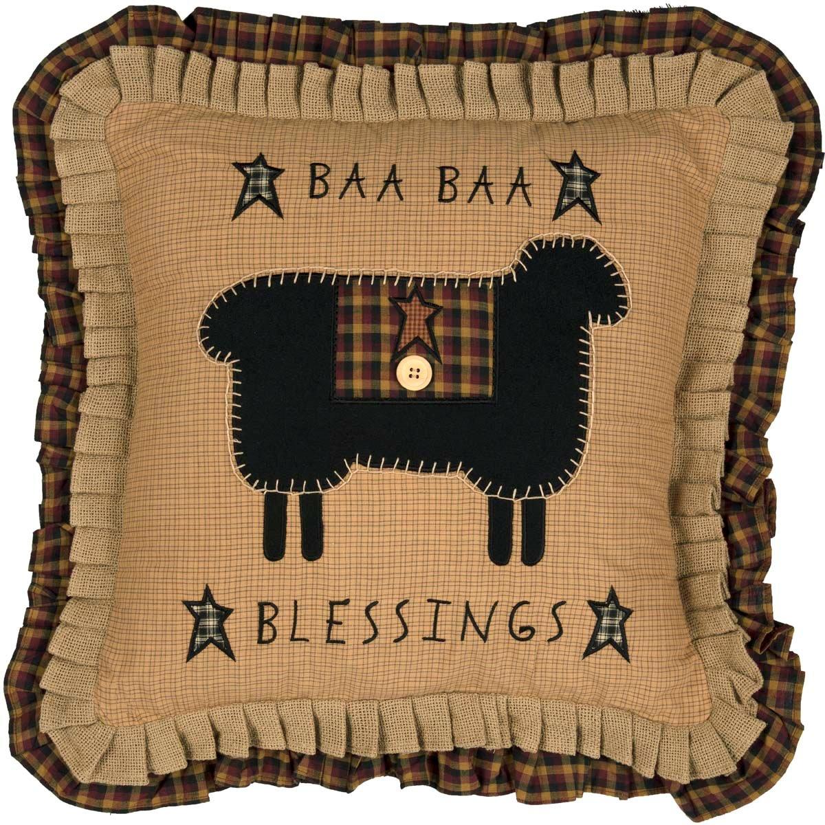 Baa Baa Blessings Pillow