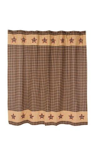 Bingham Star Shower Curtain