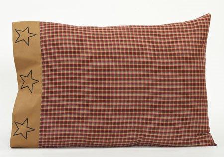 Patriotic Patch Pillow Cases