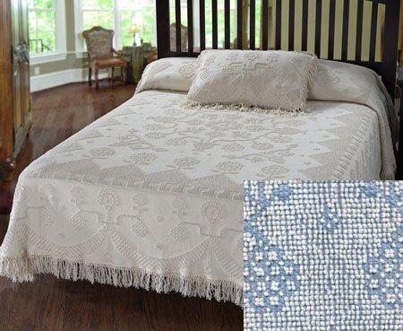 George Washington Bedspread King Blue