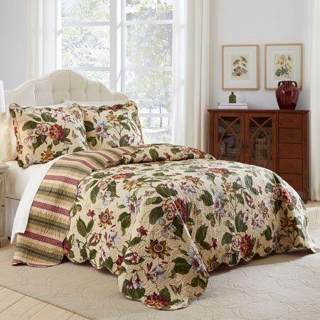 Waverly Laurel Springs 3 Piece King Bedspread Set
