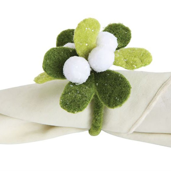Mistletoe Napkin Ring