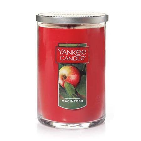 Yankee Candle MacIntosh Large 2 Wick Cylinder Candle