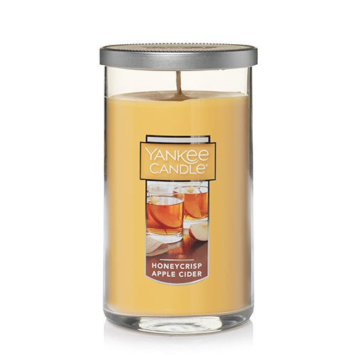 Yankee Candle Honeycrisp Apple Cider Medium Perfect Pillar Candle