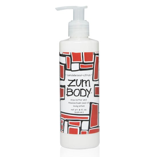 Zum Body Sandalwood-Citrus Lotion Bottle (8 oz)