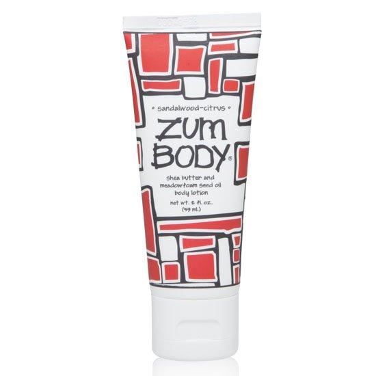 Zum Body Sandalwood-Citrus Lotion Tube (2 oz)