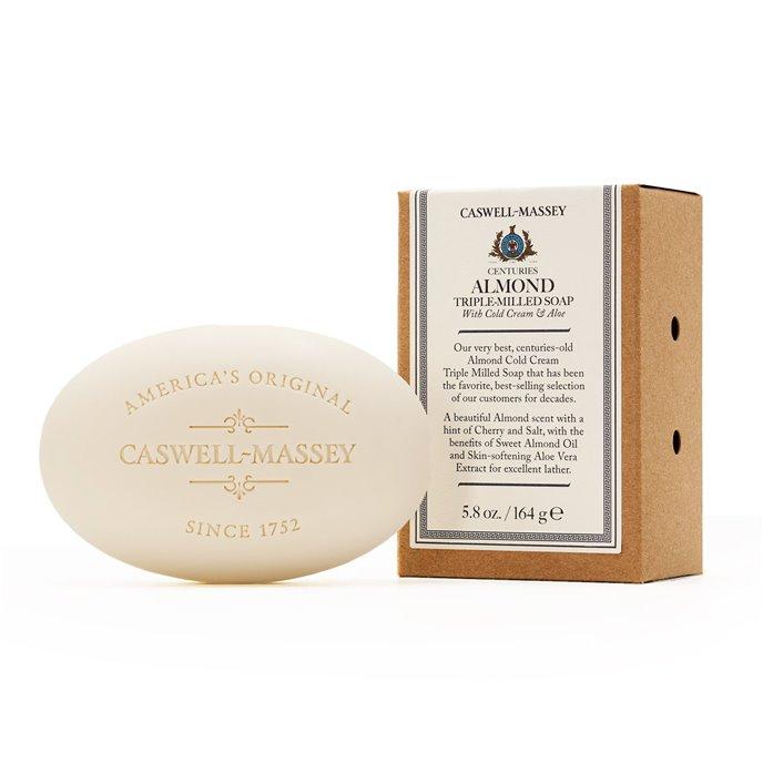 Caswell-Massey Almond & Aloe Single Soap (5.8 oz bar) Thumbnail