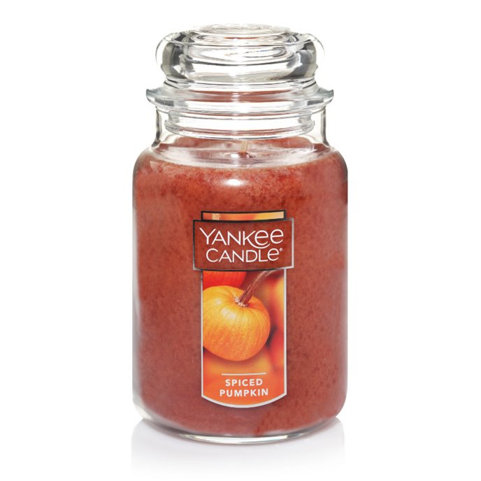 Yankee Candle Spiced Pumpkin Large Jar Candle Thumbnail