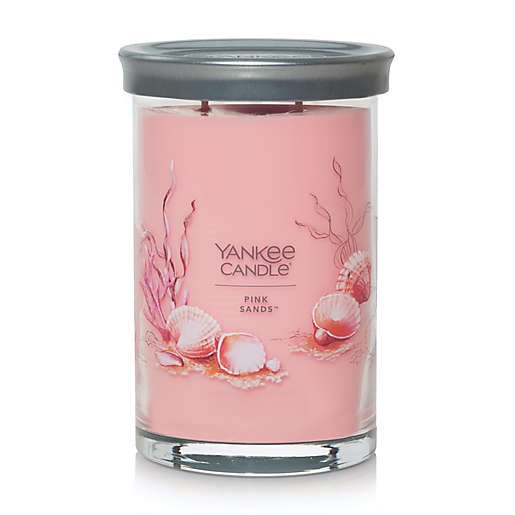 Yankee Candle Pink Sands Large 2 Wick Cylinder Tumbler Candle Thumbnail