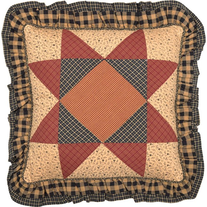 Maisie Patchwork Pillow 18x18 Thumbnail
