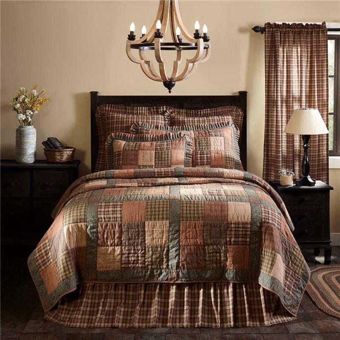 Crosswoods Luxury King Quilt 105x120 Thumbnail