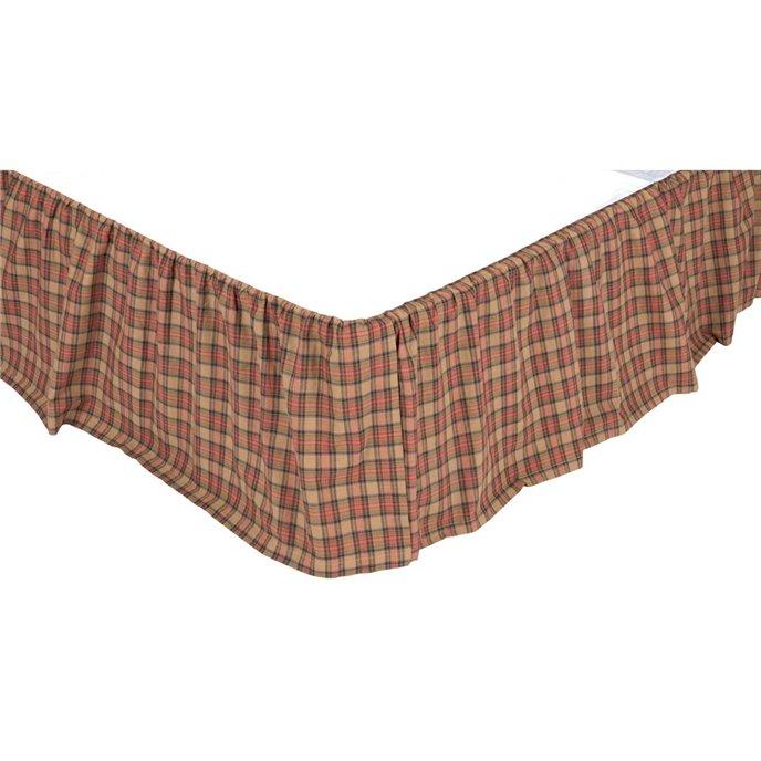 Crosswoods King Bed Skirt 78x80x16 Thumbnail